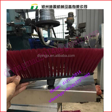 plastic cleaning brush making machine/plastic broom machinery make cheap PP broom with color brush bristle