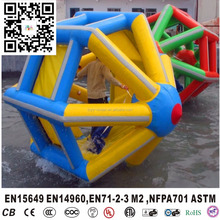 Water Game Inflatable Hamster Roller Wheel, Walking roller game,Inflatable Hamster Roller For Kids