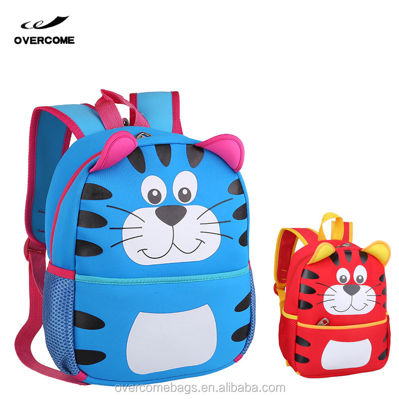 New 2016 Cute Kids Backpack with Animals, Kawaii Butterfly Backpack