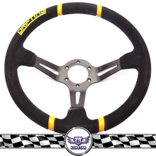 Suede leather H fit steering wheel , factory steering wheels for cars suede leather steering wheel