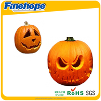 Customize Polyurethane OEM foam craft pumpkins Party Themes Halloween Pumpkins Polyurethane halloween pumpkin