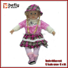 2014 new dialogue toy soft vinyl mini baby dolls