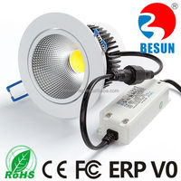 Led suspended ceiling light for home, office, supermarket, show room led 10w downlight