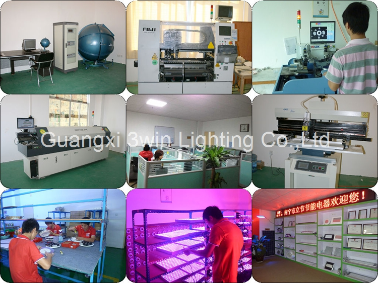 OEM/ODM Apollo8 Grow LED Light 400W/80*5W Red/Blue or Customized Full Spectrum for Budding Seeding Flower Blooming VEG. Fruiting