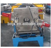 china glazed aluminium metal roof tile roll forming machine flexible steel square pipe making machine