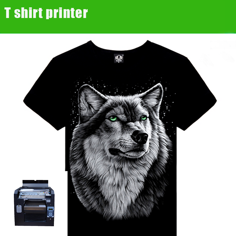 Promotional A3 dtg garment printer,cheap used direct to garment printers,custom t shirt printing