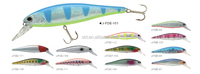 Maguns Fishing Lure hard body with sharp treble hooks fishing wobbler hard bait