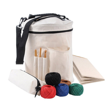 Professional factory customize high quality yarn knitting bag