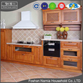 Traditional kitchen cabinet high quality kitchen cabinet door with solid wood frame for sale