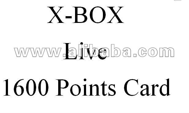 360 live 1600 points card