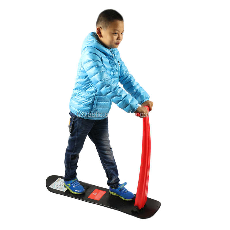 kids plastic snow scooter for outdoor winter sport