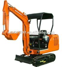 1700KG NANTE NT16 hydraulic crawler mini excavator 0.06M3 bucket kubota or Chinese engine