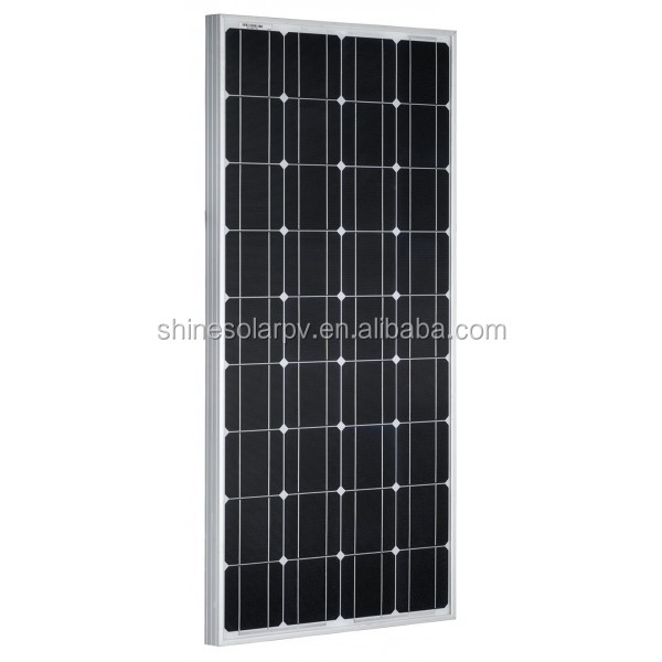 monocrystalline solar panels with A grade solar cell factory price