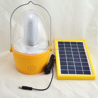 outdoor solar lantern with radio rechargeable outdoor lighting portable 36 LED camping lamp