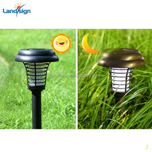 Solar Powered Bug Zapper Light, Kpest Solar Insect Killer Indoor Outdoor Mosquito Killer Fly Pest Trap Lamp Portable Garden Lawn