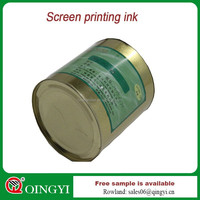 Qingyi high quality silk screen printing ink