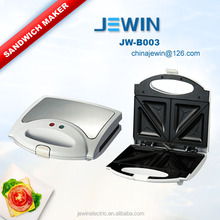 4 Slices sandwich maker with handle and detachable plate for homeuse