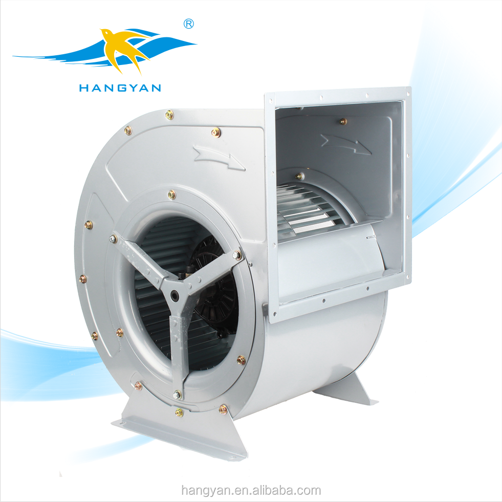 250mm AC Double inlet radial centrifugal fan