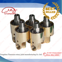 H series water,air,salt water,hydraulic oil rotary unions