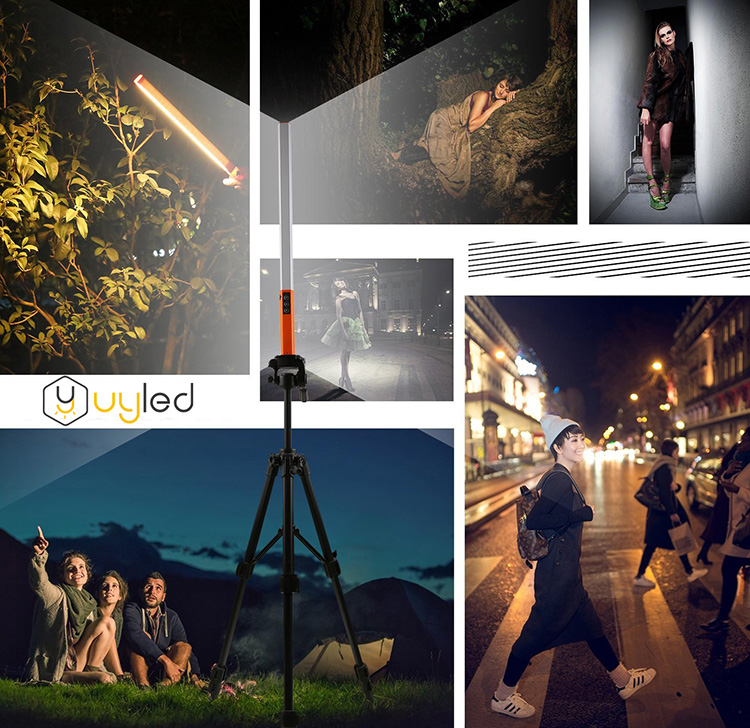 UYLED Rechargeable Remote Control Dimmable Brightness LED Light For Outdoor Photography