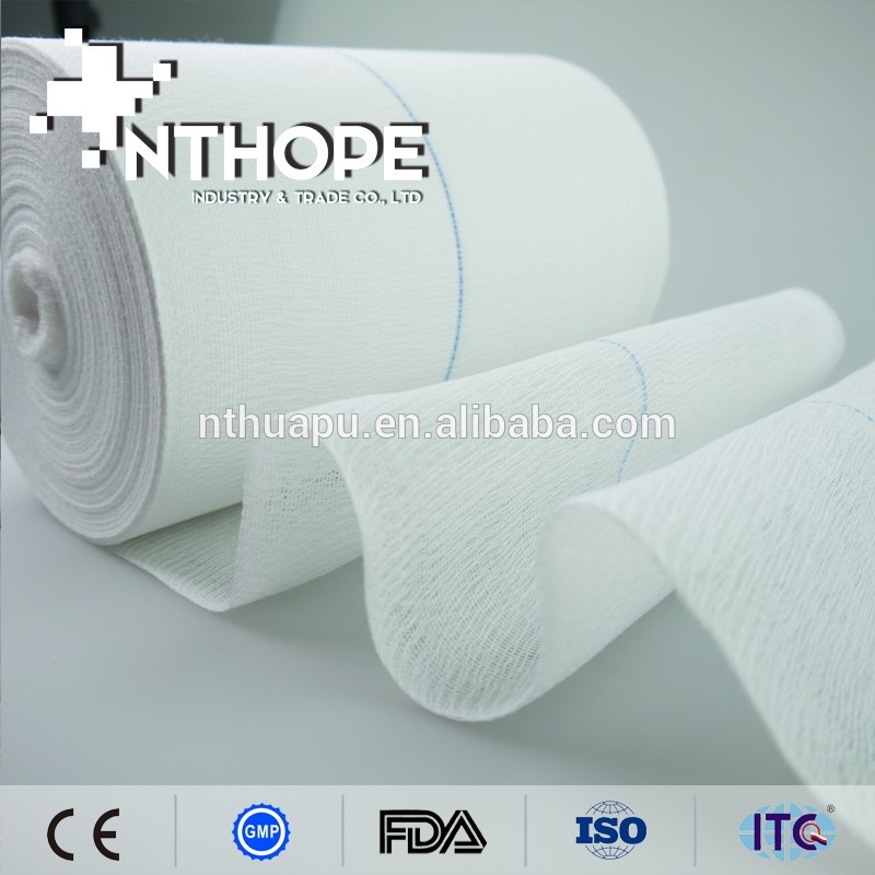Good price 100 cotton absorbent gauze roll