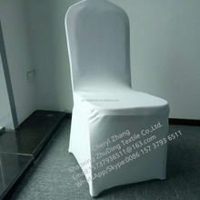 Wholesale White 300gsm Wedding Lycra Banquet Spandex Chair Cover