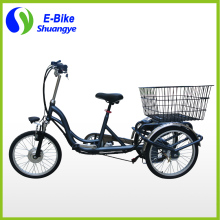 250w-350w powerful folding electric tricycle for handicapped