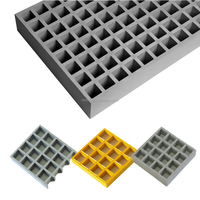 molded fiberglass diamond mesh grating