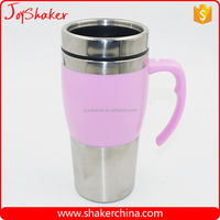 Office/Car Daily Use Insulated Coffee Mug with Handle and Lid
