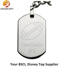 Promotional cheap metal blank dog tag of China manufacturer