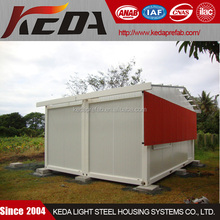 Steel Prefabricated Home Combined By 20ft Modular Container House