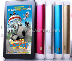 7inch 4G quad core tablet PC phone, MTK 8735 quad core Cortex-A53 1.3GHz, Android 5.1