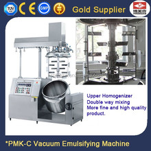 Stainless steel high shear vacuum laboratory emulsifier mixer for Cosmetic cream