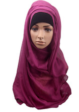muslim scarf viscose scarf hijab wholesale with good price in mixed colors