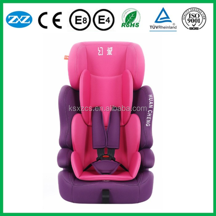 headrest adjusted child car seat CE approved safety baby car seat