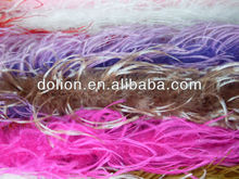 2013 Factory Wholesale Sexy Curly Pink Ostrich Feather Boas