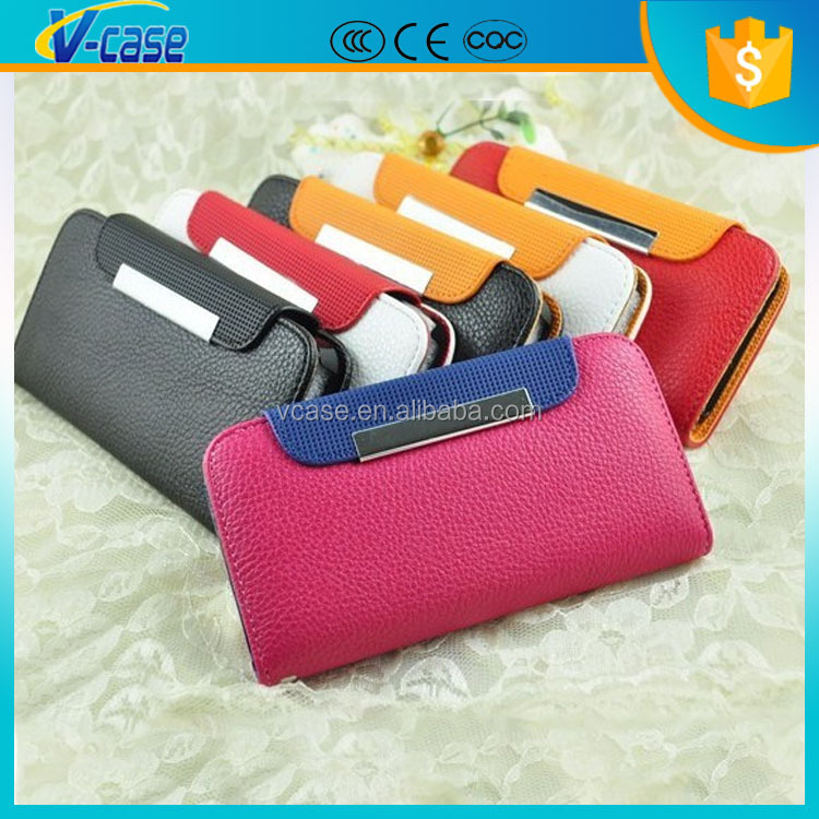 Telephone accessories belt clip flip holster case for iphone 6 plus