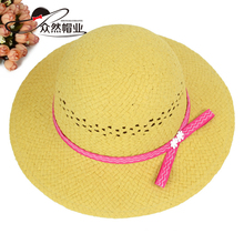Wholesale Popular Style Baby Caps And Hats Straw Sun Cap