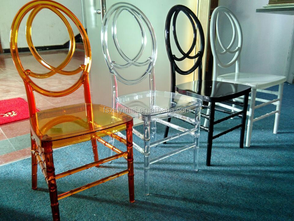 amenities hotel,hotel furniture, wholesale resin clear chiavari chair XYM-ZJ95,western dining chairs