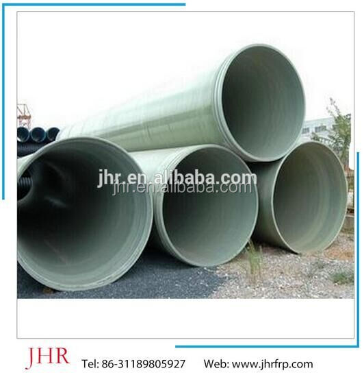 FRP GRP water drainage pipeline