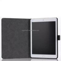 2016 Hot Selling Cheapest Tablet Case Simple Leather Case Cover For Ipad air 2 Leather Flip Case