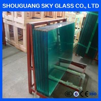 Building Glass Use In wall decoration,3mm-19mm Toughened Glass, Furniture, Decorative