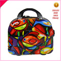 Customized ABS+PC Plastic lovely cute fashionable cosmestic bag make up bag tool bags