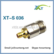 RP SMA Jack (male pin) to F-Type Female straight rf coax adapter connector