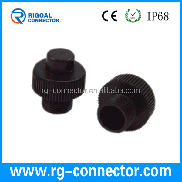 M12 assembly connector dust cap