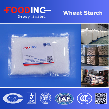 Natural And Safety Food Additive Wheat Starch