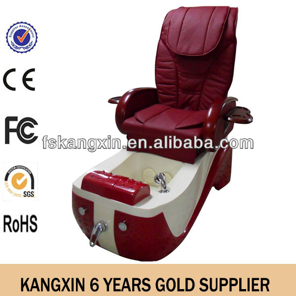 Beauty salon nail pedicure chair leather cover
