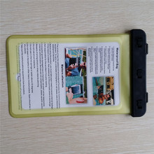 China supplier yellow pvc waterproof case for Tablet waterproof case for blackberry PlayBook for swimming