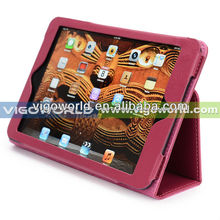 Stitching PU case for iPad Mini in stock other OEM orders are welcome