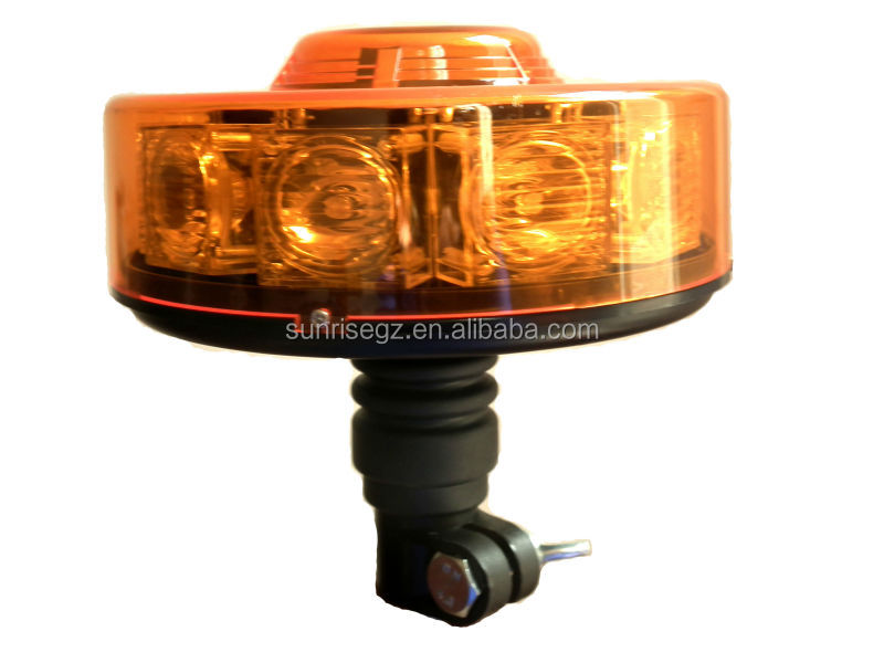 Car MiNi LED light bar, Round Flexible Din Pole Rooftop Beacon ...